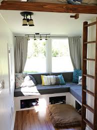 Glamping Tiny House Interior Would You Live Here - Tiny home interiors