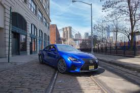 lexus rcf blue the stylish 2015 lexus rc f is built to exceed expectations