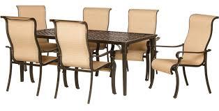 7 Piece Patio Dining Set - brayden studio sweeten 7 piece outdoor dining set u0026 reviews wayfair