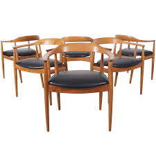 danish modern dining chairs by niels eilersen at 1stdibs