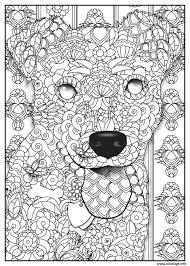 Coloriage chien beagle adulte animaux  JeColoriecom