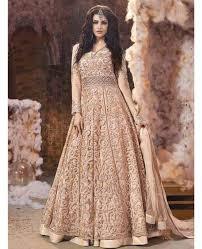 Wedding Dress Online Shop Buy Light Peach Colour Mix N Match Embroidered Wedding Dress