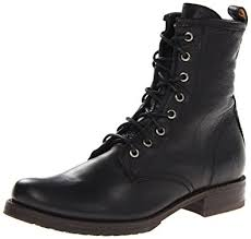 womens boots on amazon amazon com frye s combat boot ankle bootie
