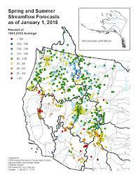 Columbia River Map Early Season Forecast Shows Rain U2013 Not Snow U2013 Keeping Pacific