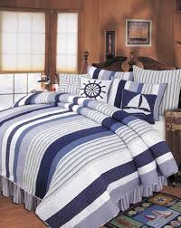 Nautical Bed Set Nantucket Style But Maybe A Masculine For The Home