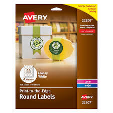 free sticker label templates amazon com avery easy peel permanent print to the edge round amazon com avery easy peel permanent print to the edge round labels laser inkjet 2 inch glossy white pack of 120 labels 22807 all purpose labels