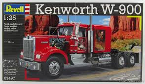 kenworth w900 model truck revell kit 07497 scale 1 25 kenworth w900 truck 1977