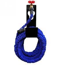 new metal garden hose pipe reel holder hanger outdoor wall mounted