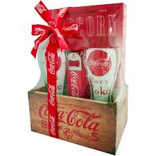 coca cola halloween costume coca cola wood crate gift set 5 pc walmart com