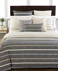 hotel collection modern colonnade pair of european shams bedding