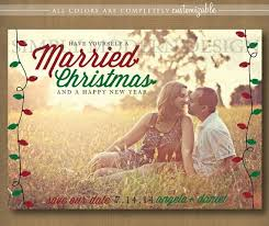 married christmas cards majestic sunset save the date christmas cards view photo on open