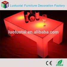Plastic Bar Table Led Lighting Bar Table Bar Counter Waterproof Led Bar Plastic