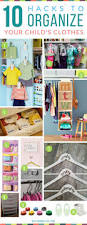 Closet Organizers For Baby Room Best 20 Kids Clothes Organization Ideas On Pinterest Organize