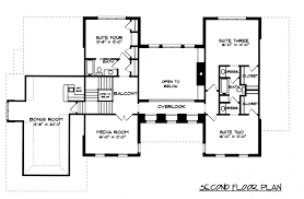 Center Hall Colonial Open Floor Plan Georgian Period House Floor Plan House Plans
