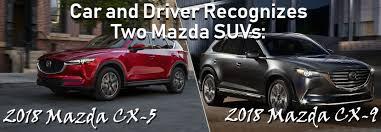 mazda car and driver 2018 mazda cx 9 vs 2018 volkswagen atlas vic bailey