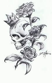 skull and flower tattoos 12 best tattoos ever