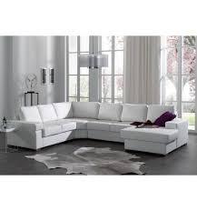 canapé d angle avec méridienne canapé d angle avec méridienne droite en simili cuir blanc