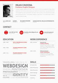 Cv Or Resume Sample by 25 Examples Of Creative Graphic Design Resumes Inspirationfeed