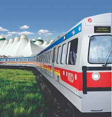 Getting Around Local And Regional by Denver Airport Train U0026 Light Rail Visit Denver