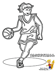 sports coloring pages getcoloringpages