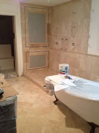 Travertine Bathroom Designs Bathroom Awesome Walker Zanger Tile Wall With Wall Sconces And