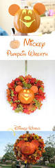 mickey halloween wreath diy copy cat from disney world mickey u0027s