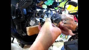 suzuki vstrom motorcycle valve clearance adjustment part i youtube