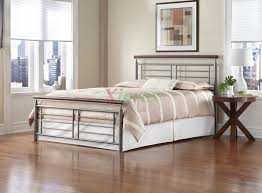 King Metal Headboard King Metal Platform Bed Frame With Headboard Feat Wood Side