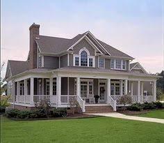 Large Farmhouse Floor Plans Spacious Modern Farmhouse Style Home With Large Wraparound Porch