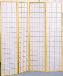 amazon com legacy decor 3 panel shoji screen room divider black