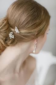 natural white opal pearl hair pins crystal hair pins natural ivory off white