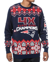 patriots sweater nfl forever collectibles patriots bowl sweater zumiez