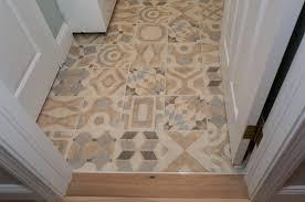 Floor Porcelain Tiles Laundry Floor Porcelain Tile Memory 8x8 Blanc Deco Tan Brown Blue