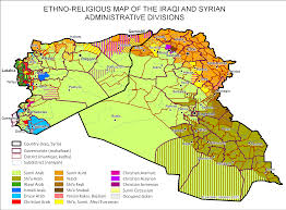 Isis Syria Map by Sunni Areas Post Isis Occupation By Foreign Powers