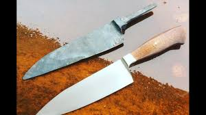Best Forged Kitchen Knives Forged Integral Chef Knife With Nick Rossi At Nesm Youtube