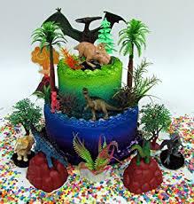 dinosaurs cakes prehistoric roaming dinosaurs 12 birthday cake