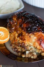 orange glazed turkey recipe