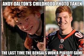 Bengals Memes - nfl memes on twitter andy dalton and the bengals lead the