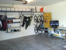 bicycle hooks garage wall nice home design