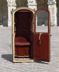 Sedan Chairs This Is Versailles Sedan Chairs At Versailles