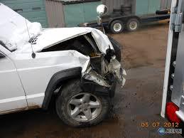 crashed jeep liberty well it u0027s totaled