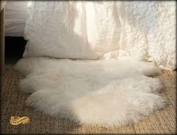 Polar Bear Fur Rug Buy White Polar Bear Sheepskin Rectangle Faux Fur Rug Made In