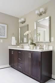 bathroom cabinets beveled bathroom mirror home depot mirrors