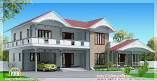 2990 sq feet sloped roof house in Kerala style