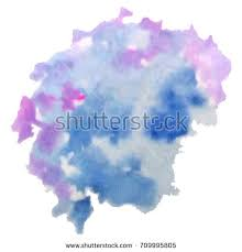 vector watercolor background isolated watercolor texture stock