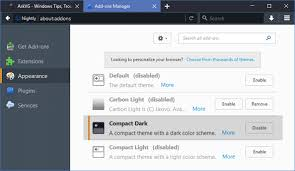 change themes on mozilla 2 new themes compact dark and compact light added to mozilla