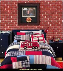 Decorating Theme Bedrooms Maries Manor Fire Truck Bedroom Decor - Firefighter kids room