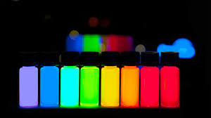 what the blank makes quantum dots blink