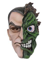 Halloween Costume Sale Uk Dc Mens Two Face Halloween Fancy Dress Costume Amazon Co Uk