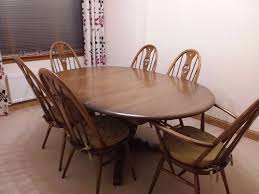 Ercol Dining Table And Chairs Ercol Dining Table And 6 Chairs In Tullibody Clackmannanshire
